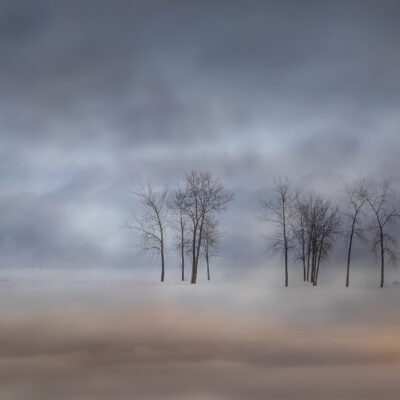 """Hazy Day in Constance Bay 36""""X24"""" Photograph printed on metallic paper and satin lamination"""
