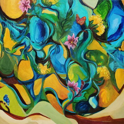"""Spring Oil on Canvas 30""""x40"""""""