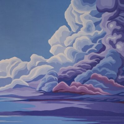 """Sunshine After the Storm Acrylic 24""""x48"""""""