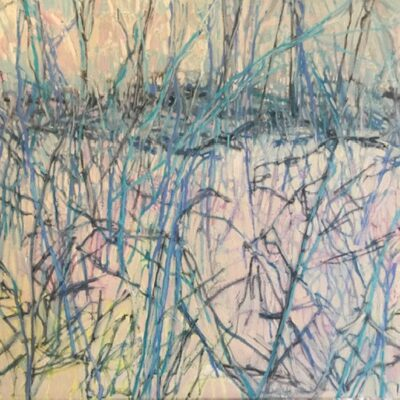 """If You Could Read My Mind Oil 30""""x24"""""""