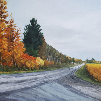 """Towards Greener Pastures Oil on Canvas 16""""x20"""""""