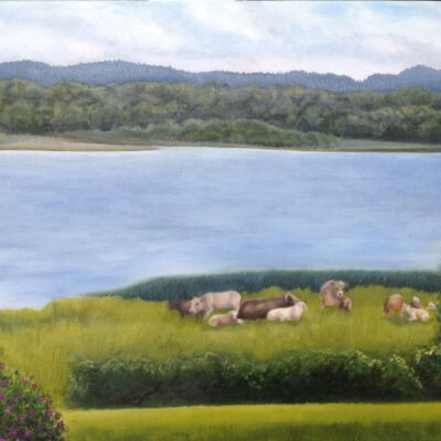 """Tranquility Oil on canvas 20""""x16"""""""