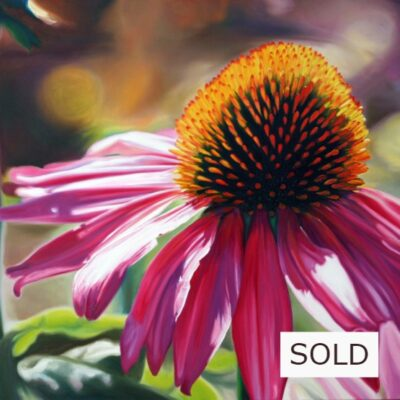 """SOLD! My Chérie Oil on canvas (Galerie) 52""""x42"""""""