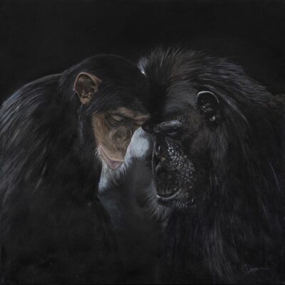 """Unconditionality Oil 36""""x36"""" • Unframed 38""""x38"""" • Framed"""