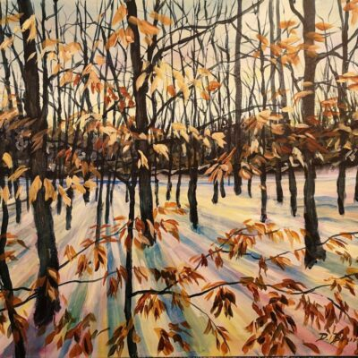 Torbolton Forest Acrylic 24″x30″